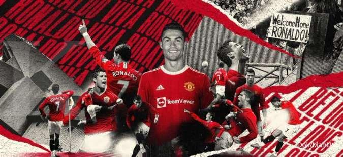 Cristiano Ronaldo Kembali lagi ke Manchester United