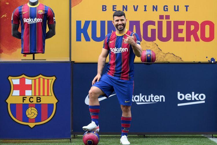 Sergio Aguero Sempat Terkejut Dengan Lingkungan Baru di Barcelona