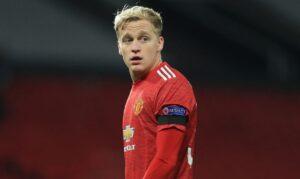 Manchester United Menjaga Donny van de Beek